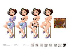 Cartoon Sex (eduardowestin) Tags: woman game girl sex naked mulher cartoon mulheres jogo pelada nua cartum