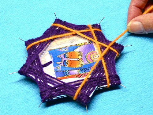 Как сделать елочную игрушку из фольги, картона и ниток - Женский Клуб - Мамин Клуб