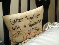 thanksgiving pillow