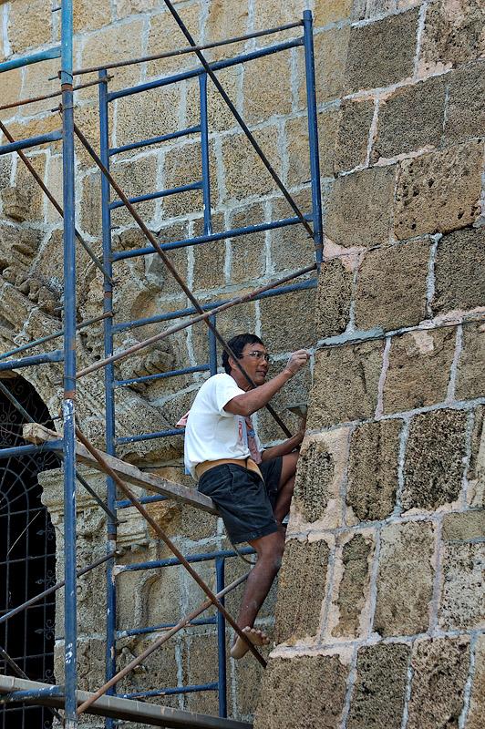 Miag-ao Church Restorer