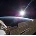 Sun Over Earth (NASA, International Spac by NASA