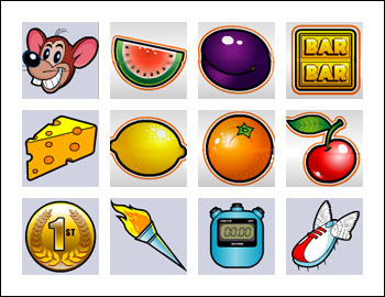 free Track and Field Mouse slot game symbols