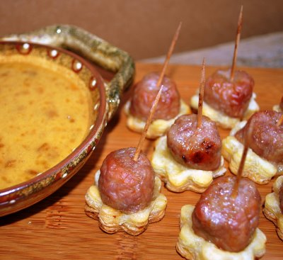 Sausage_Bites_on_plate
