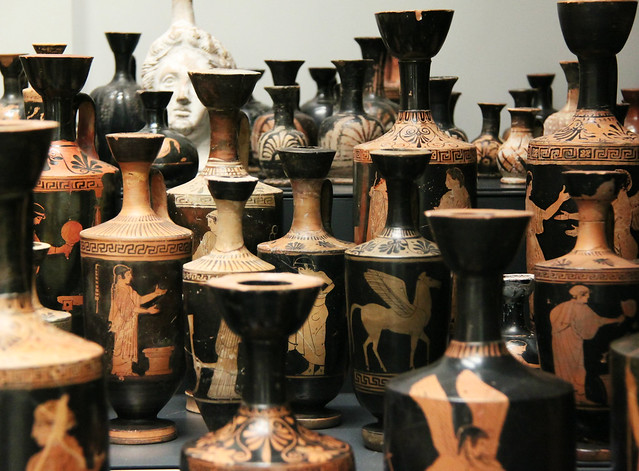 Greek red-figure vases