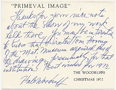 The Woodruffs, Christmas 1972