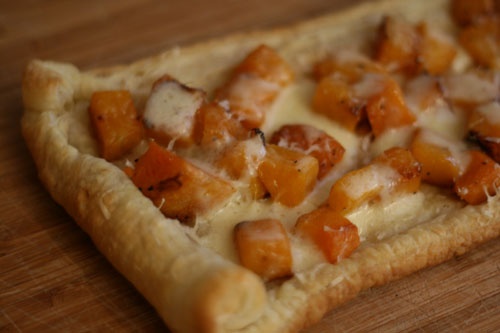Easy Party Food: Freeform Puff Pastry Tart Recipe