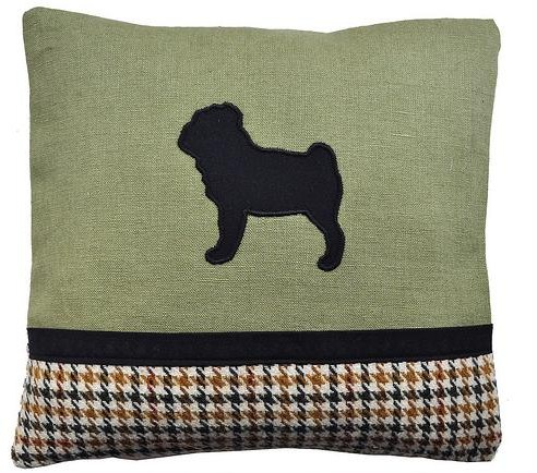 Edwyn UK Pug cushion
