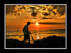 Se vienen las vacaciones (Richard Espagnolo) Tags: pez rio real uruguay atardecer mar agua camino natural playa cielo alta vacaciones rocas belleza pescador canelones cuchilla
