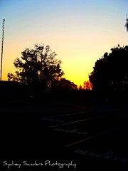 suzannes pictures 754 (PHoToGrApHeR is...sydney) Tags: road school trees sunset san parking diego reserved spaces elementry cadman