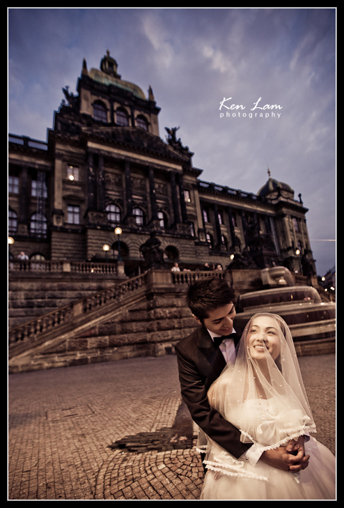 Zeta & Bryan - Pre-wedding in Prague