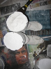 Plaster boot form