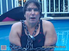 52 Degree Water Escape from Chains (Alex_EA) Tags: alex chains artist underwater escape view magic breath great barrel wear full darby worldwide shackles relay hold handcuffs drowning magician houdini alexanderia