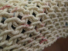 """Chinese Waves"" dishrag detail"