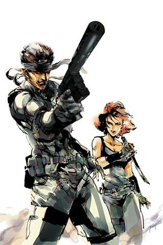 metal gear solid wallpapers. Metal Gear Solid
