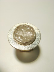 Anillo resina y cuarzo Hernan (Cobres Del Aconcagua_ Curso de capacitacin de or) Tags: anillos