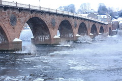 Perth, Snow & Ice Smeatons Bridge (Beange) Tags: snow ice rivertay perth smeatonsbridge