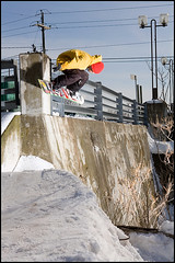 BF (Pierre-Luc Bouchard) Tags: street wall factory ride brother snowboard matane pierreluc bouchard