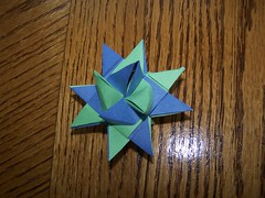 "German Paper Star - ""Froebel Stern"""