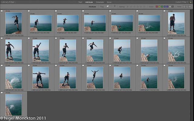 Jumping series
