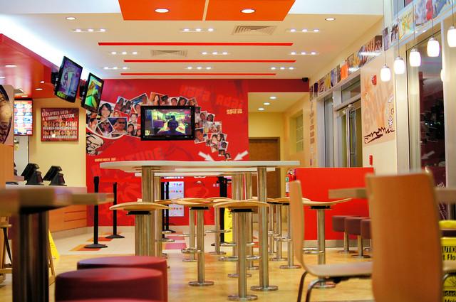 KFC Interior
