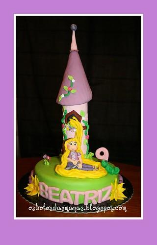 Bolo Rapunzel Entrelaçados 4 by Osbolosdasmanas