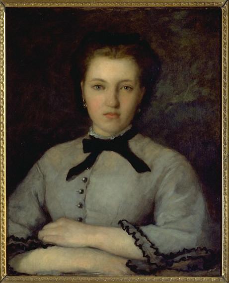 Auguste Renoir - Portrait de Marie-Zélie Laporte