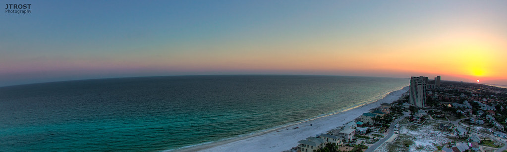 Curve of the Earth - Sandestin, Florida