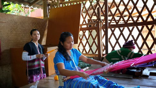 Karen hill tribe fabric shop