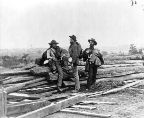 Three Confederates at Gettysburg
