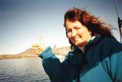 940726 The Devil's Thumb (rona.h) Tags: july arctic greenland sue 1994 cloudnine ronah kullorsuaq bowman57