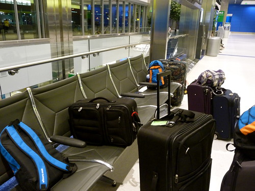 Massive Pile of Luggage