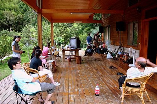 miaoli cabin porch