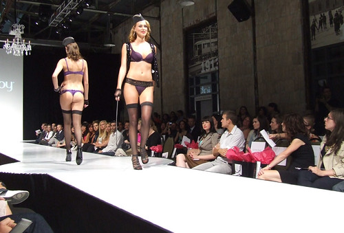 Lejaby at the Lingerie show