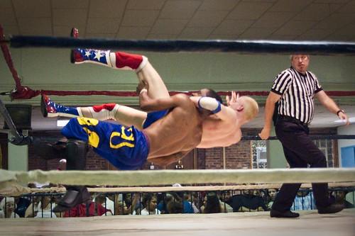 Wrestling Sideways - Really