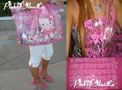 ★My New Kawaii Bag(Julie, ur receiving this in our next swap too♥)★ (Pinky Anela) Tags: pink summer bag japanese hellokitty swap kawaii bows