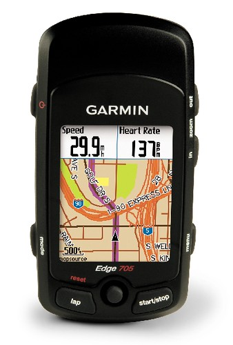 Garmin Edge 705 GPS with Heart Rate Monitor & Cadence