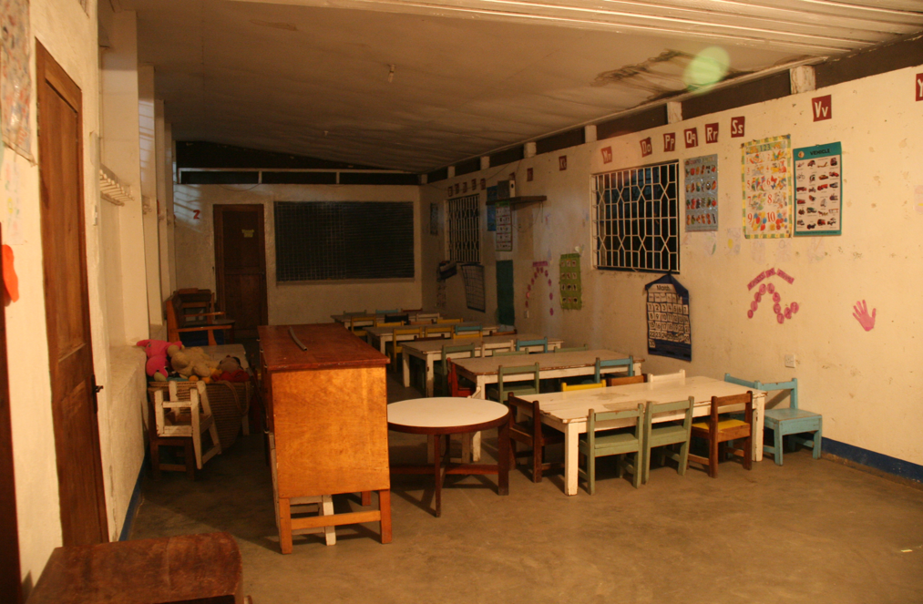 baby classroom at night