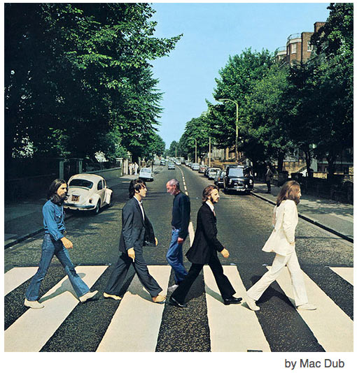 Steve Jobs Abbey Road