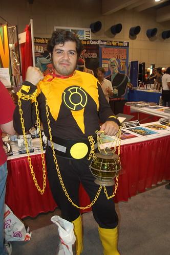 Comic Con 09: sinestro corps