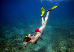 Exploring (Artvet) Tags: ocean water girl diving snorkeling