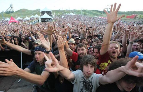 Watching Pearl Jam at COP