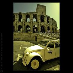 Arena de Arles (m@®©ãǿ►ðȅtǭǹȁðǿr◄©) Tags: france frança rhône arles francia rodano provenzaalpescostaazul canoneos400ddigital m®©ãǿ►ðȅtǭǹȁðǿr◄© sigma10÷20mmexdc marcovianna arenadearles