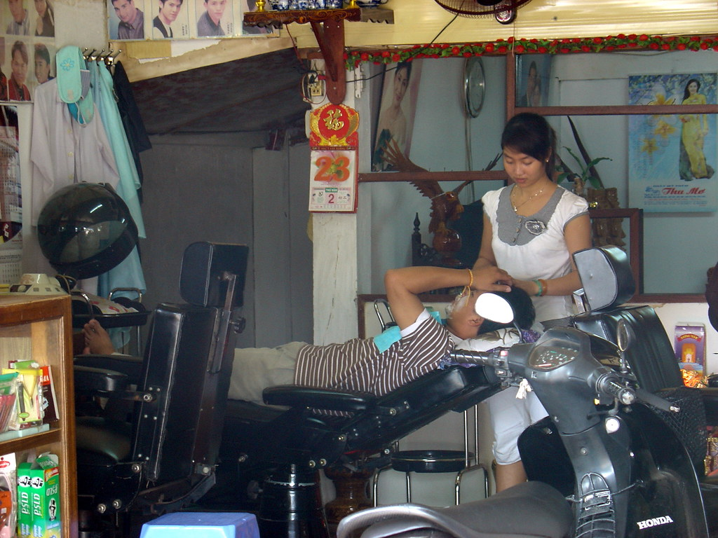 Hair Salon, Savannakhet, Laos