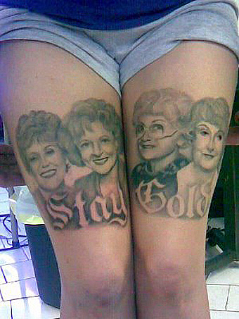 golden girls tattoo.