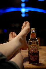 "Day 302 The end of one of ""those"" days. (dixieroadrash) Tags: feet beer newcastle relax drink ale end cheers putyourfeetup oneofthosedays"