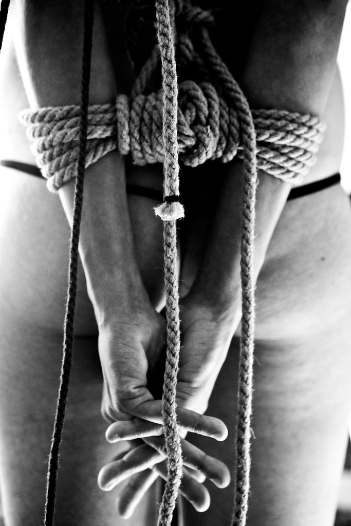 The life male bdsm bondage session are