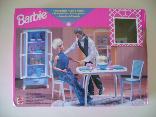 barbie dining room mattel 1998 a photo on flickriver rh flickriver com barbie dining room barbie dining room furniture