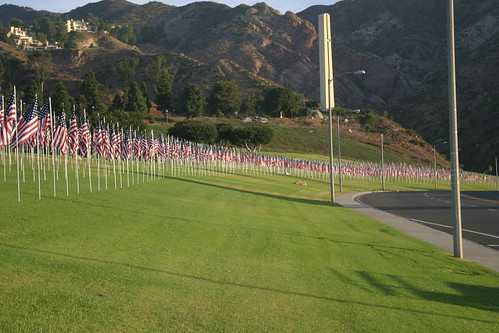 9.11 memorial at Pepperdine University