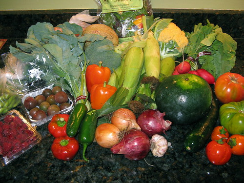 What's in CSA box 10