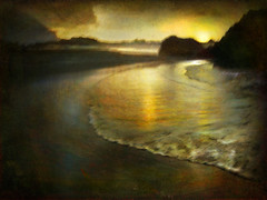 Seascape #15 (Judex) Tags: sunset sea seascape beach landscape mar shoreline playa paisaje marino dreamcatcher artlibre memoriesbook stealingshadows hourofthesoul alwaysexc beyondclick artistictreasurechest